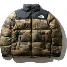<img class='new_mark_img1' src='https://img.shop-pro.jp/img/new/icons43.gif' style='border:none;display:inline;margin:0px;padding:0px;width:auto;' />再入荷 THE NORTH FACE (ザノースフェイス) Novelty Nuptse Jacket (ノベルティー ヌプシジャケット) WD (ウッドランドカモ) / ND91842