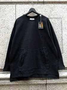 <img class='new_mark_img1' src='https://img.shop-pro.jp/img/new/icons43.gif' style='border:none;display:inline;margin:0px;padding:0px;width:auto;' />COMFY OUTDOOR GARMENT (コムフィーアウトドアガーメンツ) SLOW DRY TEE L/S (オーバーサイズ L/S Tシャツ) Black