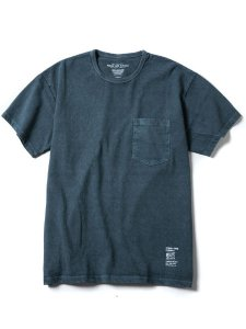 <img class='new_mark_img1' src='https://img.shop-pro.jp/img/new/icons16.gif' style='border:none;display:inline;margin:0px;padding:0px;width:auto;' />20% OFF SALE ROUGH AND RUGGED (ラフアンドラゲッド) MIL SS (ピグメント染め S/S Tシャツ) Navy