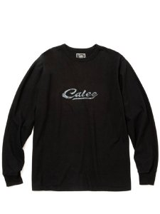 <img class='new_mark_img1' src='https://img.shop-pro.jp/img/new/icons1.gif' style='border:none;display:inline;margin:0px;padding:0px;width:auto;' />CALEE (キャリー) Binder neck logo print L/S t-shirt (バインダーネック ロゴ L/S Tシャツ) Black
