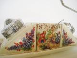 ENGLAND アンティーク陶器 調味料入れ Antique ceramic