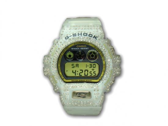 カスタムG-SHOCKダイヤモンド ブラウンダイヤBD6900-380