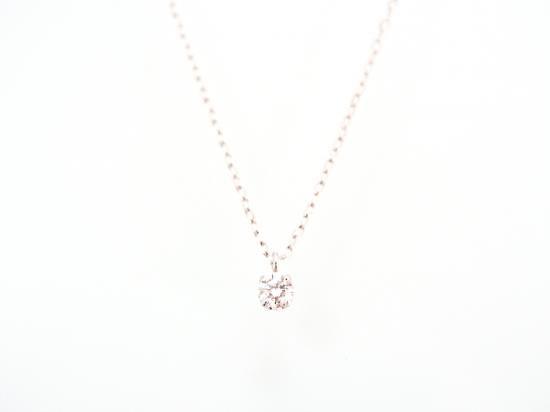 18K 一粒ダイヤモンド ネックレス 【50%OFF!セール】
