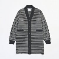 <img class='new_mark_img1' src='https://img.shop-pro.jp/img/new/icons20.gif' style='border:none;display:inline;margin:0px;padding:0px;width:auto;' />VICTIM / LONG BORDER CARDIGAN 30% OFF