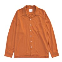 <img class='new_mark_img1' src='//img.shop-pro.jp/img/new/icons2.gif' style='border:none;display:inline;margin:0px;padding:0px;width:auto;' />VICTIM /  OPEN COLLAR LOOSE SHIRTS (ORANGE)
