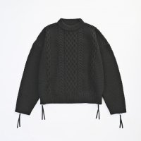 VICTIM / BIG CABLE KNIT (BLK) 2018 AW 先行御予約 第2弾