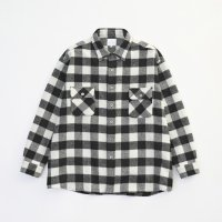 VICTIM / WOOL CHECK OVER SHIRTS (BLK) 2018 AW 先行御予約 第2弾