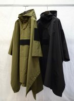 <img class='new_mark_img1' src='//img.shop-pro.jp/img/new/icons16.gif' style='border:none;display:inline;margin:0px;padding:0px;width:auto;' />SYU.HOMME/FEMM / Rain Poncho (Black) 20% OFF SALE