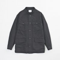 <img class='new_mark_img1' src='https://img.shop-pro.jp/img/new/icons20.gif' style='border:none;display:inline;margin:0px;padding:0px;width:auto;' />VICTIM / SAFARI JACKET (BLK)  50% OFF