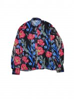 JieDa / FLOWER PATTERN L/S SHIRT 先行御予約