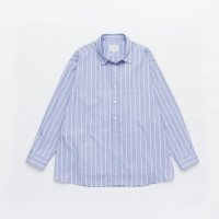 VICTIM / STRIPE BIG SHIRTS (SAX) 2019 SS 先行御予約