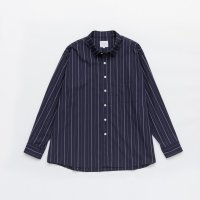 VICTIM / STRIPE BIG SHIRTS (NAV) 2019 SS 先行御予約