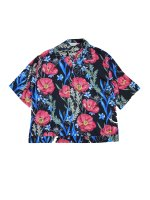 <img class='new_mark_img1' src='//img.shop-pro.jp/img/new/icons20.gif' style='border:none;display:inline;margin:0px;padding:0px;width:auto;' />JieDa / FLOWER PATTERN S/S SHIRT (Black) 20% OFF SALE
