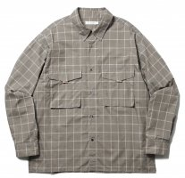 <img class='new_mark_img1' src='https://img.shop-pro.jp/img/new/icons20.gif' style='border:none;display:inline;margin:0px;padding:0px;width:auto;' />ROTOL / L/S SHIRT CHECK (BEIGE) 30% OFF SALE