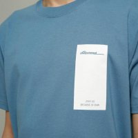 <img class='new_mark_img1' src='//img.shop-pro.jp/img/new/icons13.gif' style='border:none;display:inline;margin:0px;padding:0px;width:auto;' />dilemma / 19SS Logo Tshirt (Blue)