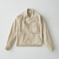 <img class='new_mark_img1' src='//img.shop-pro.jp/img/new/icons20.gif' style='border:none;display:inline;margin:0px;padding:0px;width:auto;' />RYO TAKASHIMA / Shortlength opencollar shirt (Beige) 20% OFF