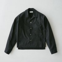 <img class='new_mark_img1' src='https://img.shop-pro.jp/img/new/icons20.gif' style='border:none;display:inline;margin:0px;padding:0px;width:auto;' />RYO TAKASHIMA / Shortlength opencollar shirt (Black) 20% OFF