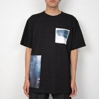 PORTVEL / PRINT TEE (Black)