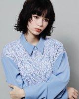 Quatorze / レースシャツ ( Light blue)