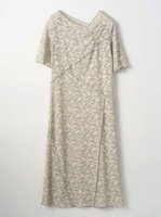 MURRAL / stretch lace dress (GRAY)