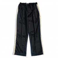 <img class='new_mark_img1' src='https://img.shop-pro.jp/img/new/icons13.gif' style='border:none;display:inline;margin:0px;padding:0px;width:auto;' />superNova / Straight track pants / Black x Beige