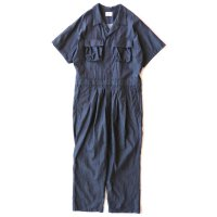 <img class='new_mark_img1' src='https://img.shop-pro.jp/img/new/icons13.gif' style='border:none;display:inline;margin:0px;padding:0px;width:auto;' />superNova / Short sleeve jump suits - 7oz tencel denim / Indigo