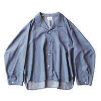 <img class='new_mark_img1' src='https://img.shop-pro.jp/img/new/icons13.gif' style='border:none;display:inline;margin:0px;padding:0px;width:auto;' />superNova / Medical shirt - Rayon chambray / Navy