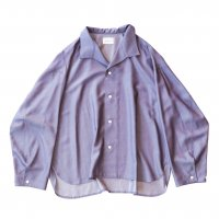 <img class='new_mark_img1' src='https://img.shop-pro.jp/img/new/icons13.gif' style='border:none;display:inline;margin:0px;padding:0px;width:auto;' />superNova / Medical shirt - Rayon chambray / Purple