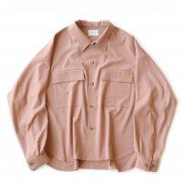 <img class='new_mark_img1' src='https://img.shop-pro.jp/img/new/icons13.gif' style='border:none;display:inline;margin:0px;padding:0px;width:auto;' />superNova / CPO shirt Jacket - Gabardine / Pink