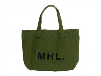 MHL. HEAVY CANVAS TOTE BAG 180OLIVE