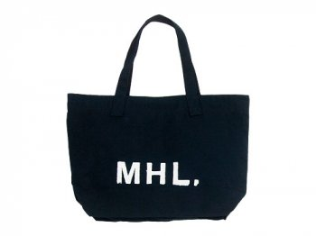 MHL. HEAVY CANVAS TOTE BAG 121DARK NAVY