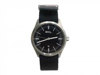 MHL. MILITARY WATCH 010BLACK