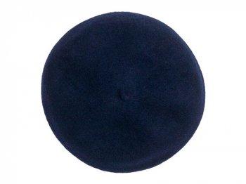 StitchandSew wool beret NAVY