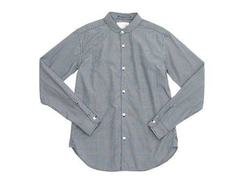 blanc round collar school shirts / no collar long shirts