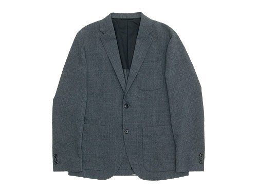 MARGARET HOWELL LIGHT WOOL HOPSACK JACKET 022GRAY 〔メンズ〕