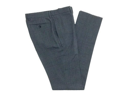 MARGARET HOWELL LIGHT WOOL HOPSACK TROUSERS 022GRAY 〔メンズ〕