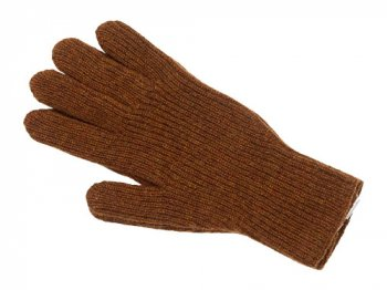MARGARET HOWELL MERINO CASHMERE GLOVE 051BROWN 〔メンズ〕