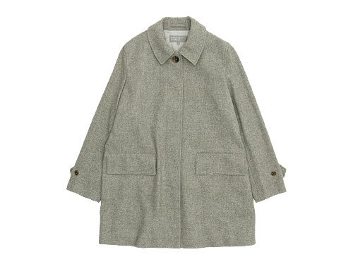 MARGARET HOWELL SOFT WOOL COATING COAT 021GRAY�̥�ǥ�������