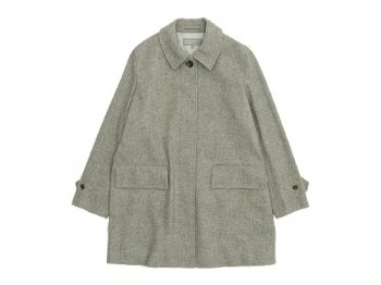 MARGARET HOWELL SOFT WOOL COATING COAT 021GRAY〔レディース〕