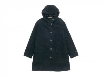 MARGARET HOWELL MOLESKIN COAT 010BLACK〔レディース〕