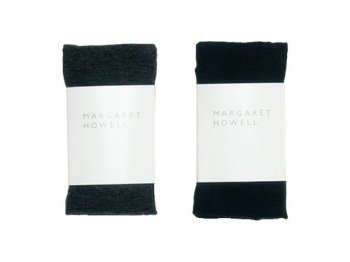 MARGARET HOWELL WOOL PLAIN TIGHTS 〔レディース〕