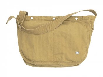 ENDS and MEANS HBT Newspaper Bag BEIGE