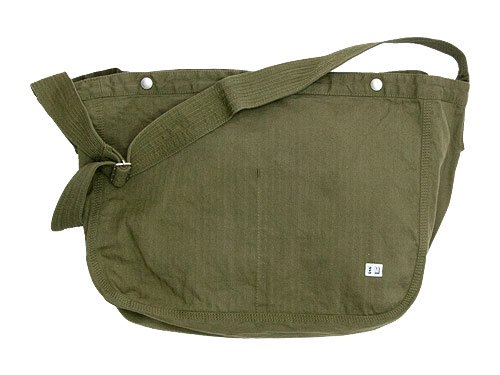 ENDS and MEANS HBT Newspaper Bag OLIVE