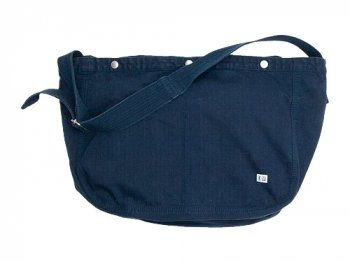 ENDS and MEANS HBT Newspaper Bag NAVY