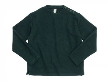 TATAMIZE C/NECK WOOL SHIRT GREEN