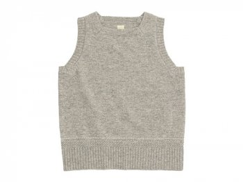TATAMIZE SQUARE NECK VEST GRAY