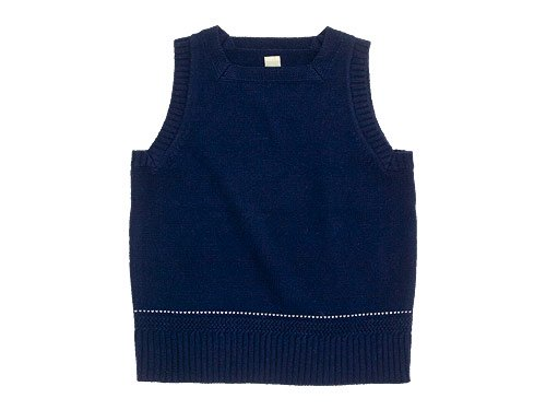 TATAMIZE SQUARE NECK VEST NAVY