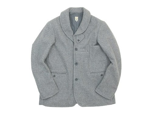 TATAMIZE SHAWL COLLAR JACKET GRAY