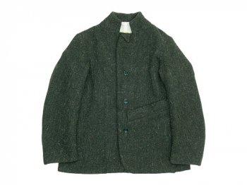 TATAMIZE STAND COLLAR JACKET GREEN