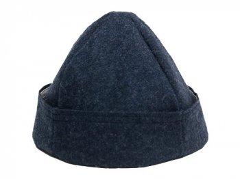 TATAMIZE BOWL CAP WOOL NAVY